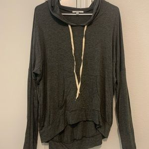 ACEMI Black Hooded Sweatshirt